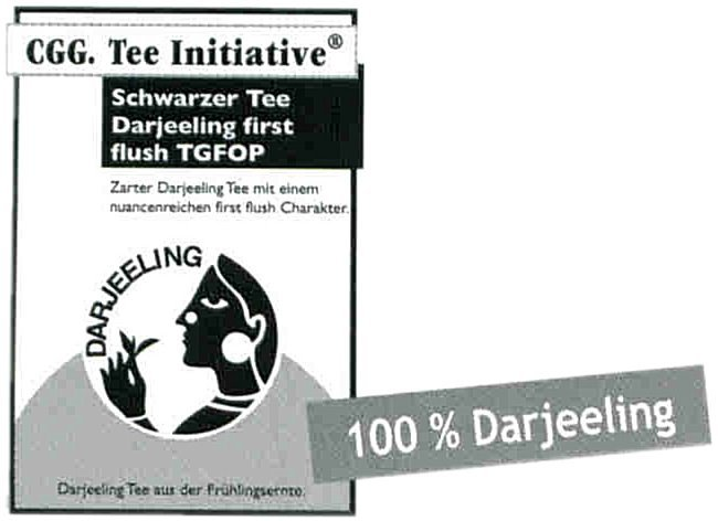 Darjeeling TGFOP First Flush Tee-Initiative®,  schwarzer Tee