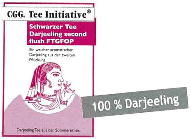 Darjeeling FTGFOP 1 Second Flush Tee-Initiative®,  schwarzer Tee