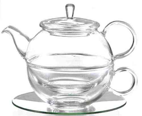 "Tea-for-one ""Lucas"", Glas, 0,45 Liter"
